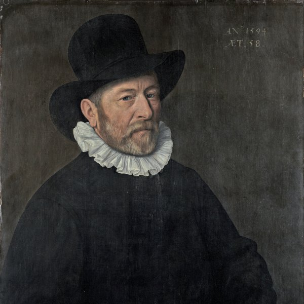 Portrait of a Man aged Fifty-eight