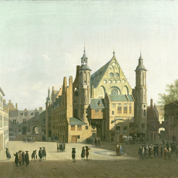 View of the Binnenhof, The Hague