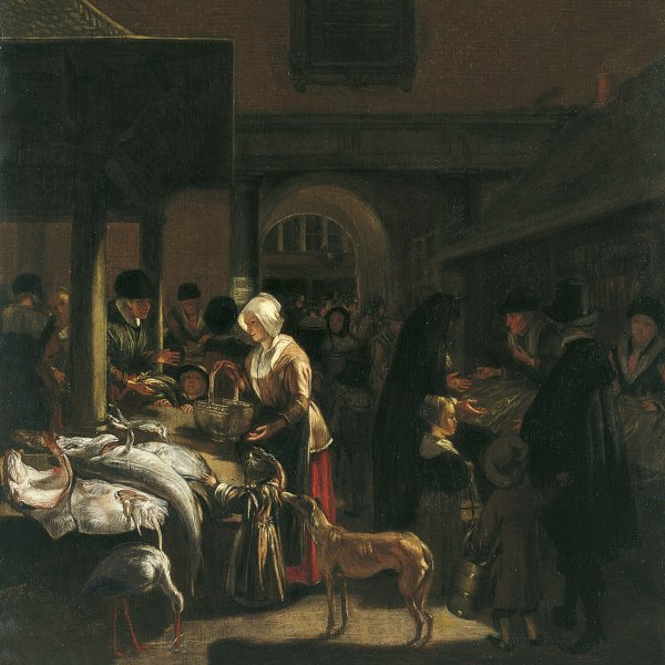 The Old Fish Market on the Dam, Amsterdam