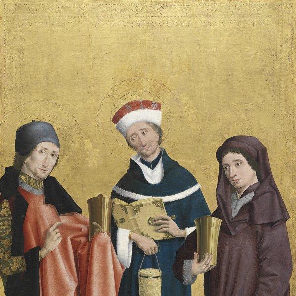 Los santos médicos Cósme, Damián y Pantaleón