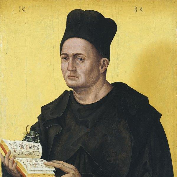 Retrato de un abad benedictino