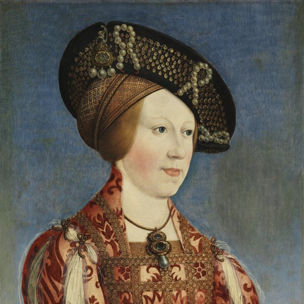 Portrait of Anne of Hungary and Bohemia