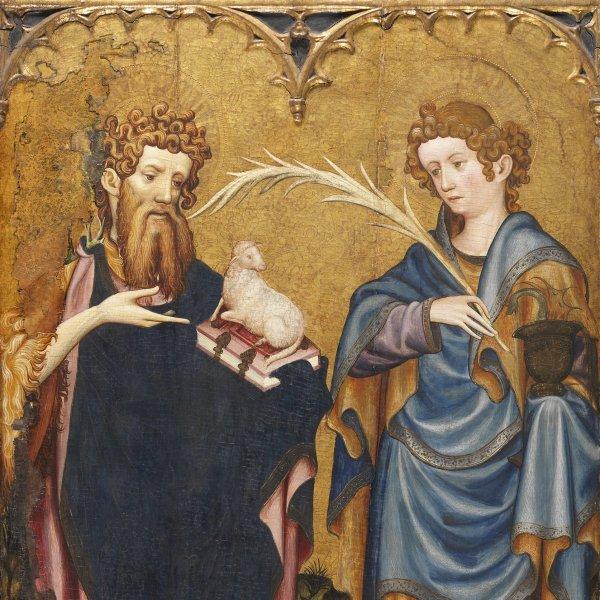 Los santos Juanes con un donante