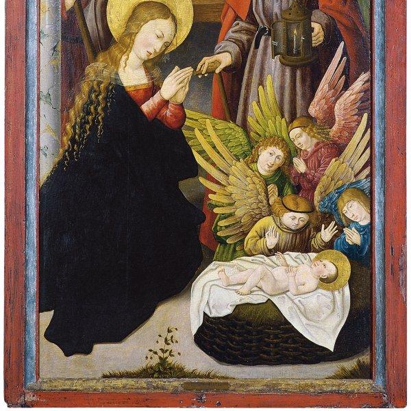 La Adoración de los pastores (Ala interior izquierda)