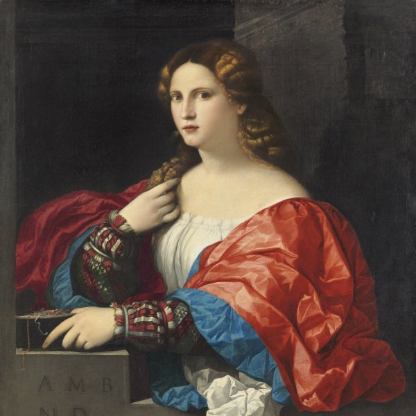 "Portrait of a Young Woman Known as ""La Bella"""