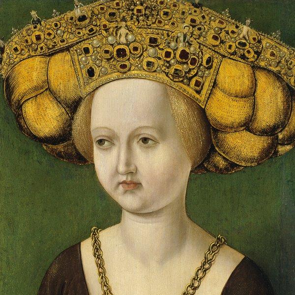 Portrait of Kunigunde of Austria