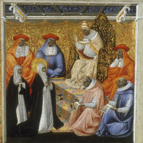 St. Catherine before the Pope at Avignon