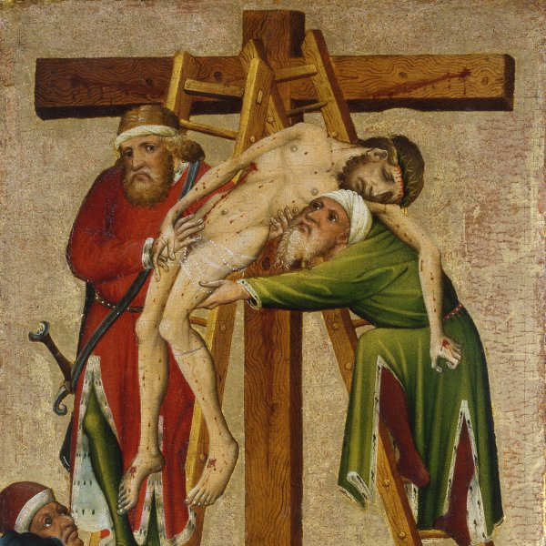 The Descent from the Cross (recto)