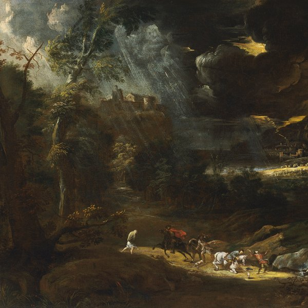 Landscape with a Storm
