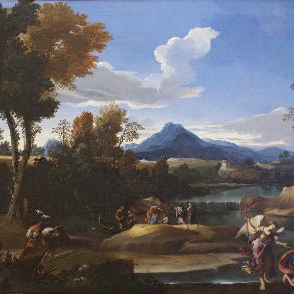 """Giovanni Francesco Grimaldi  (llamado """"il  Bolognese"""")"""