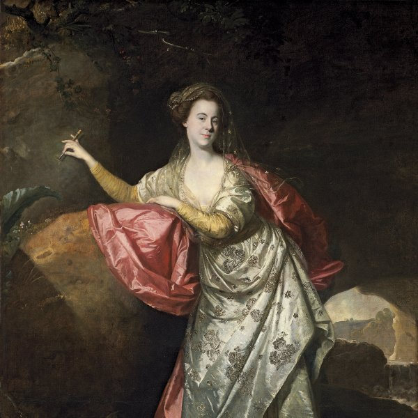 Portrait of Ann Brown in the Role of Miranda (?)