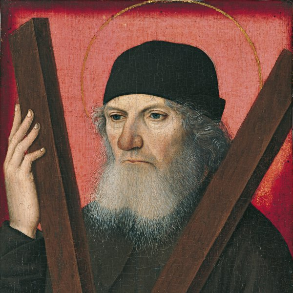 Portrait of a Man as Saint Andrew (recto)