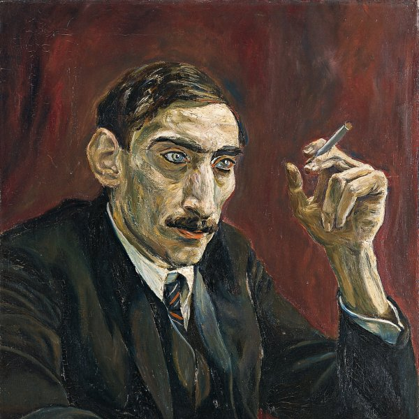 Portrait of an Oriental Journalist