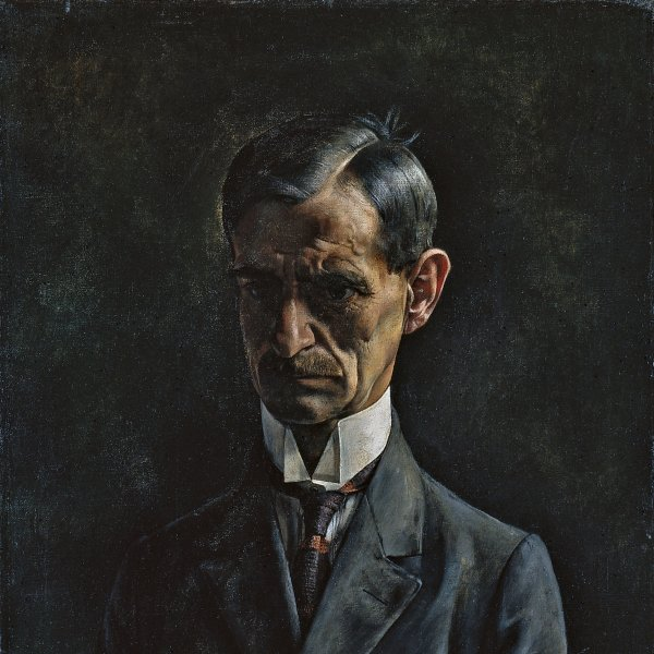 Portrait of the Painter A.M. Tränkler