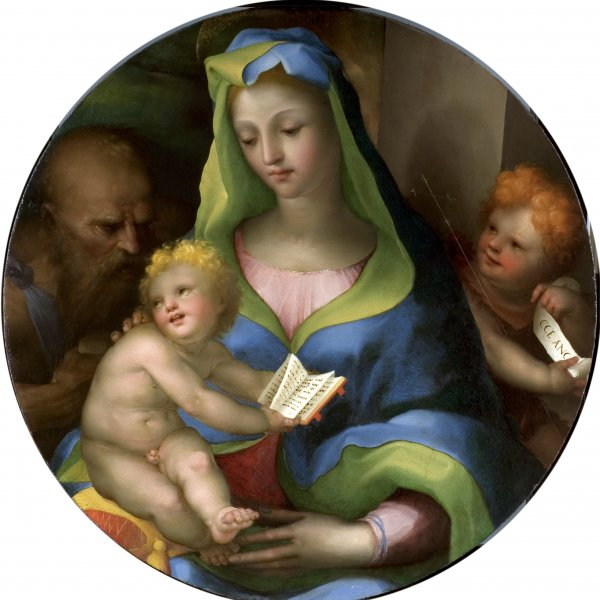 The Virgin and Child with the Infant Saint John and Saint Jerome