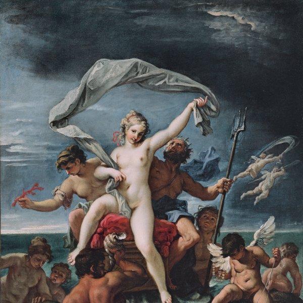 Neptuno y Anfitrite