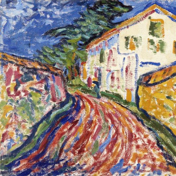 Casa en Dangast (La casa blanca)