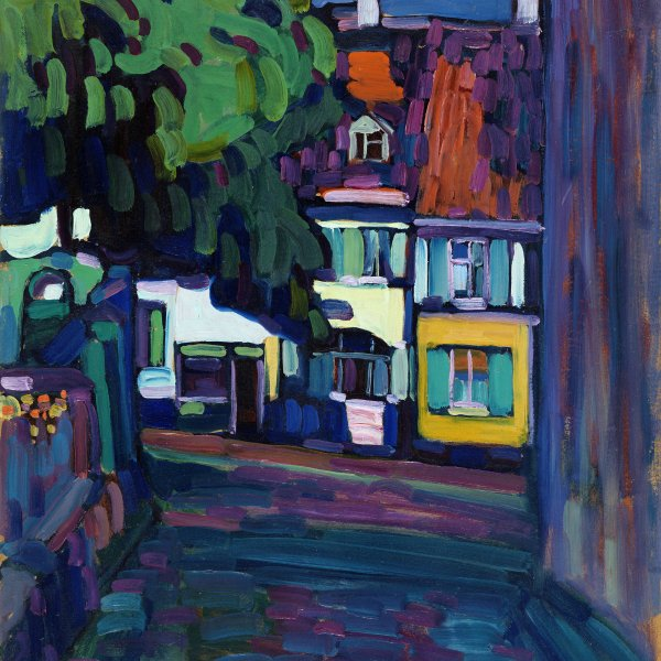 Murnau: Houses in the Obermarkt