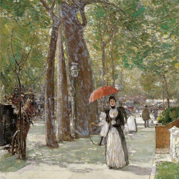 La Quinta Avenida en Washington Square, Nueva York