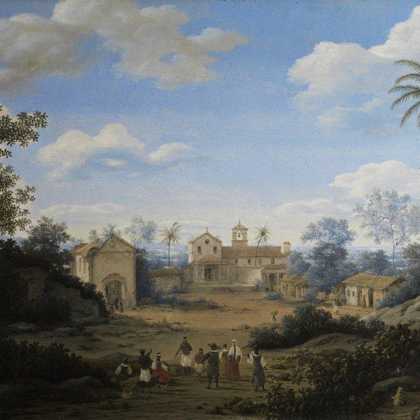 La Iglesia de S. Cosme y S. Damián, y el monasterio franciscano de Igaraçu, Brasil
