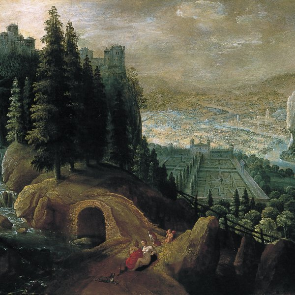 Mountainous Landscape with Venus and Adonis