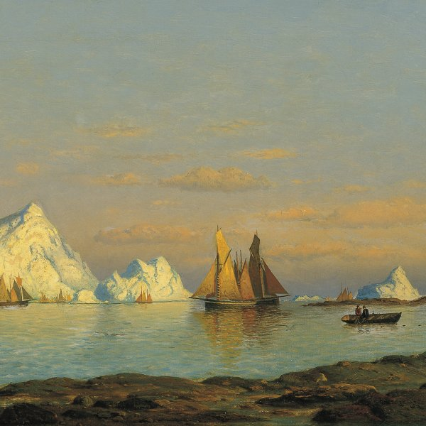 Pescadores en la costa de Labrador
