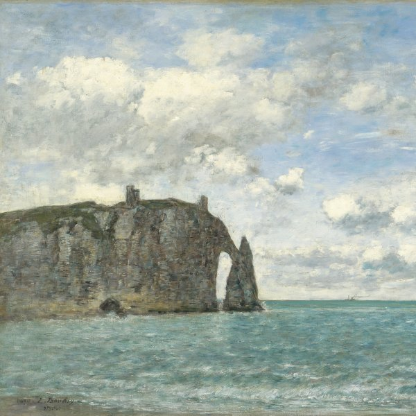 Étretat. The Cliff of Aval