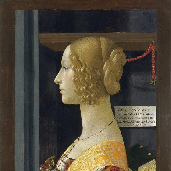 Retrato de Giovanna Tornabuoni