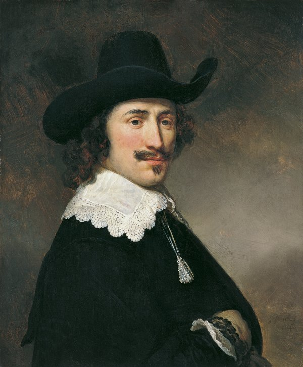 Portrait of a Man. Retrato de un caballero, 1640
