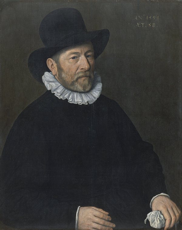 Portrait of a Man aged Fifty-eight. Caballero de cincuenta y ocho años, 1594