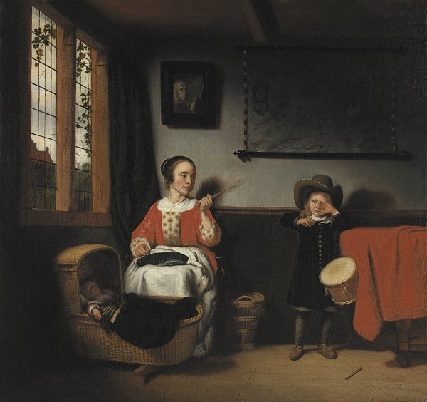 The Naughty Drummer. El tamborilero desobediente, c. 1655