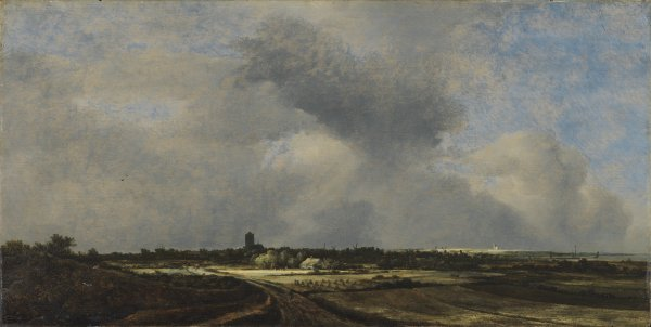 View of Naarden. Vista de Naarden, 1647