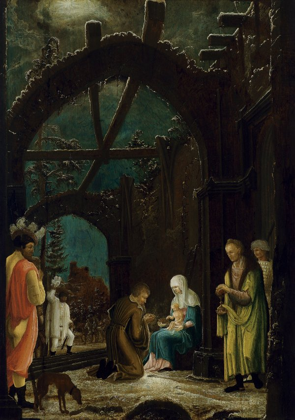 The Adoration of the Magi. Master of the Thyssen Adoration