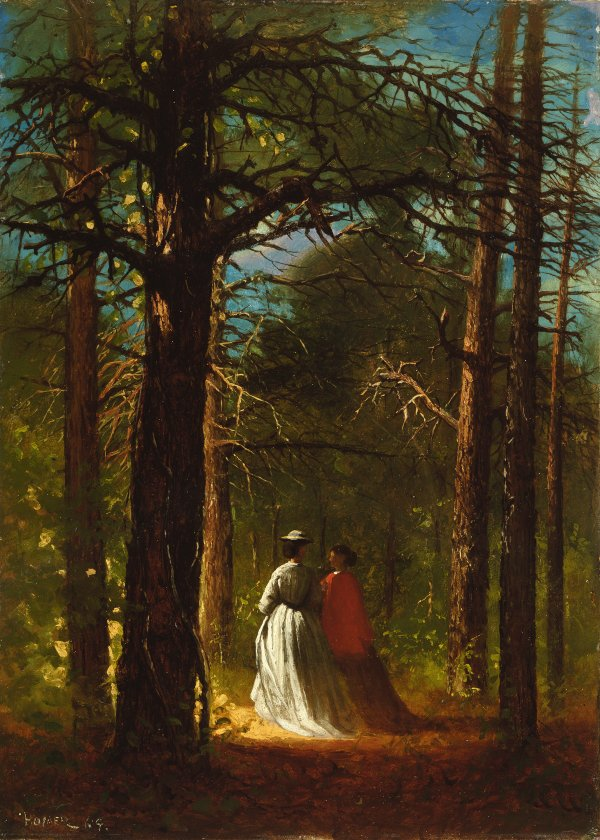 Waverly Oaks. Winslow Homer
