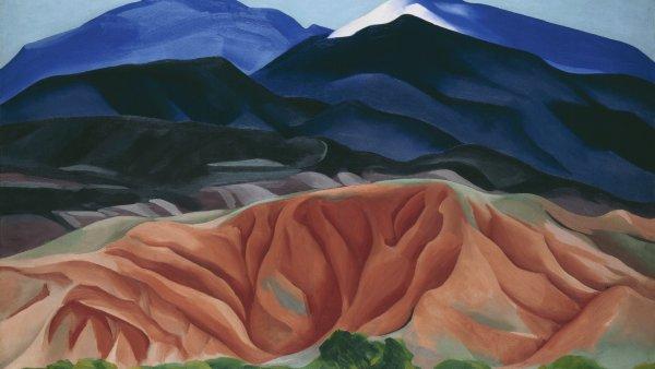 Paisaje de Black Mesa, Nuevo México / Desde la casa de Marie II, 1930