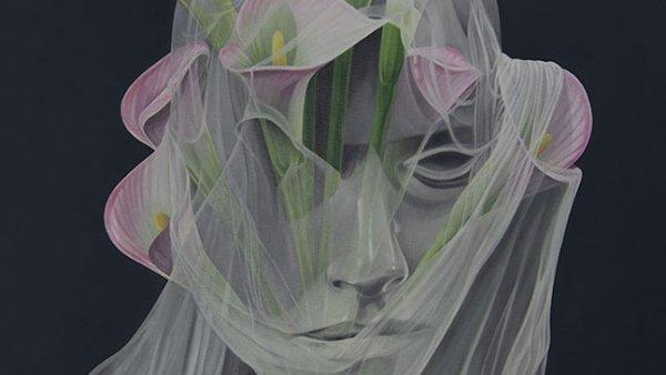 Cuadro de flores (lirios), 2020
