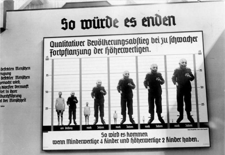 """Die große Ausstellung """"Das Wunder des Lebens"""" am Kaiserdamm in Berlin! So würde es enden! Ein interessantes statistisches Anschauungsobjekt auf der Ausstellung """"Wunder des Lebens""""."""